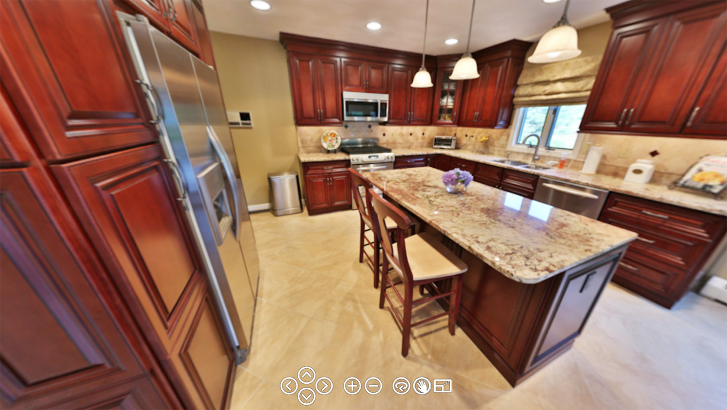 Kitchen cabinets eastern ct - Take A 360 Virtual Tour Of This Beautiful Rhode Island Kitchen Renovation In Lincoln Ri Or Rhode Island Bathroom Renovation In Narragansett Ri