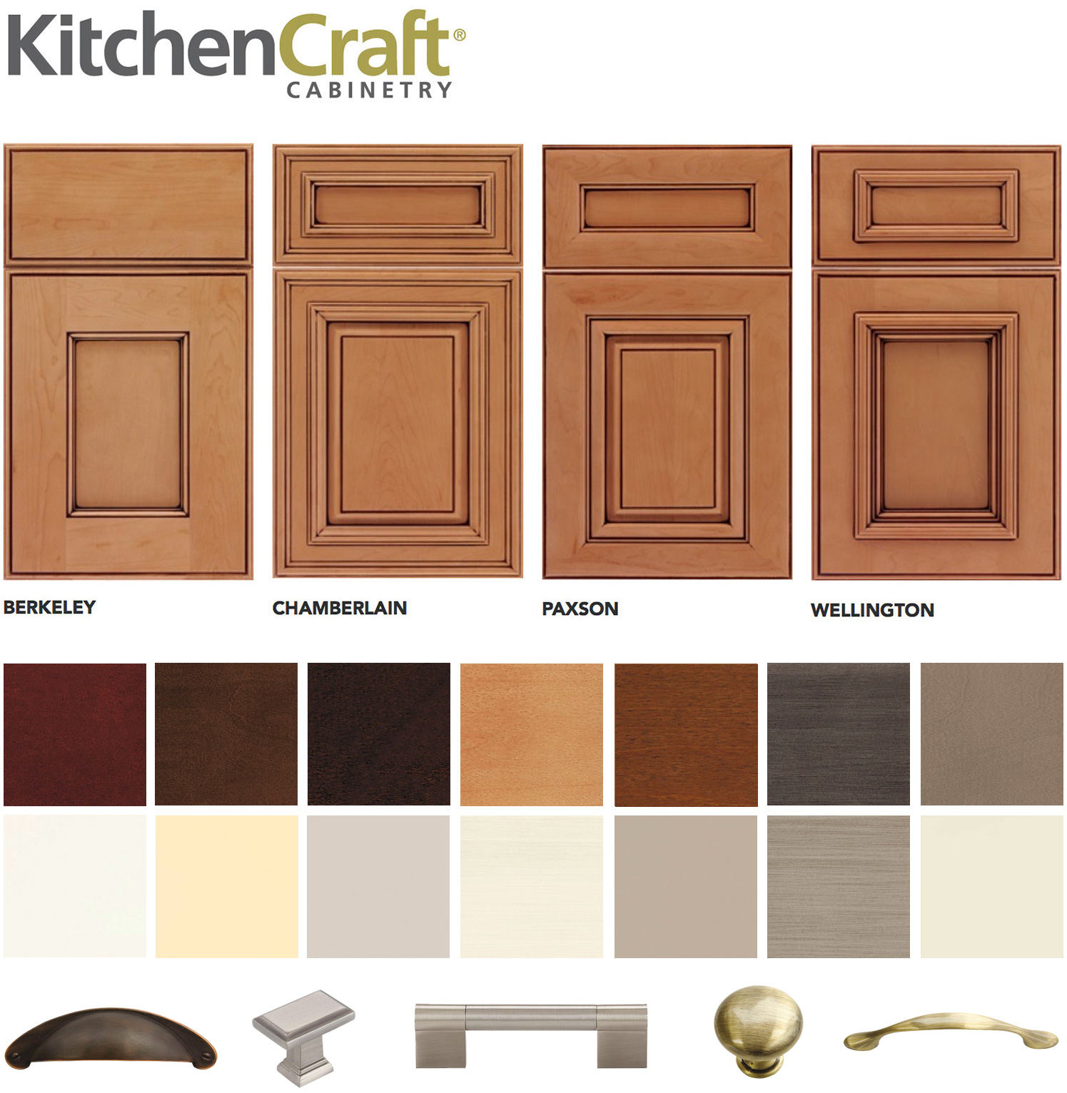 View All Door Styles, Finishes And Hardware By Kitchen Craft